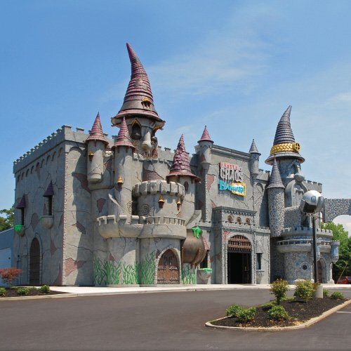 themed castle attraction