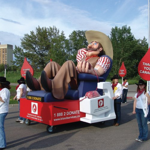 custom parade float